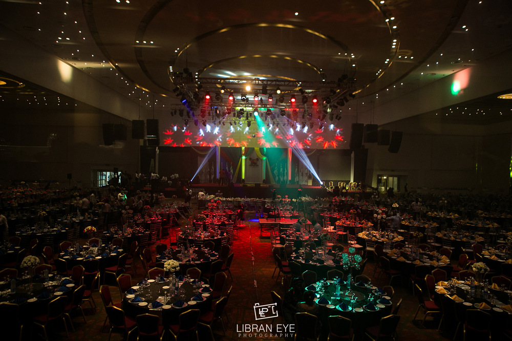 photoblog image Decor at the Lagos State Inauguration Dinner